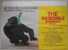 Incredible Shrinking Woman, Original UK Quad Poster, Lily Tomlin, '81